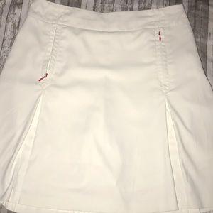 Nike White Golf Fit Dry skirt pockets 4